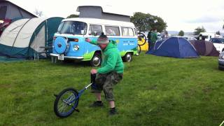 the mad 1 on a unicycle