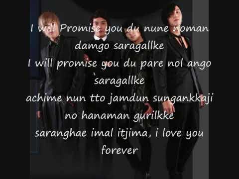 Promise Lyrics You're Beautiful Ost video