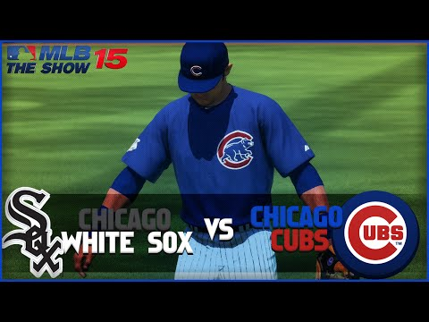 MLB 15 The Show Chicago Cubs Franchise- Errors Galore vs Chicago White Sox