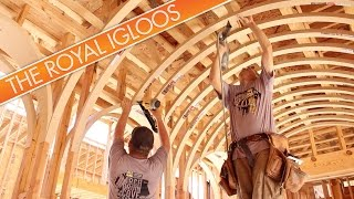 The Royal Igloos: Intersecting Barrel Vaults