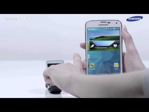 How to Connect the GALAXY Gear 2 with a Samsung Galaxy Device