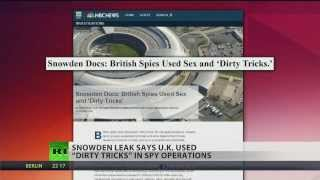 British government used sex, 'dirty tricks' in (spy) operations  2/7/14
