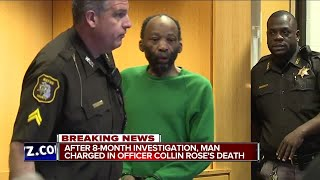 After 8 month investigation NEGRO man charged in WHITE officer Collin Rose death