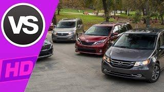 Honda Odyssey VS Nissan Quest VS Toyota Sienna