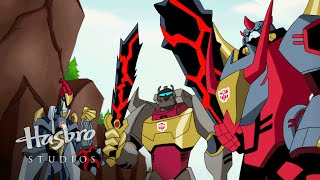 Transformers: Animated - The Dinobots Transform