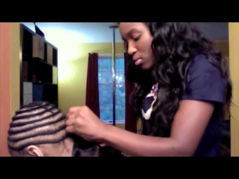 Braid Pattern for a Full Sew In Weave