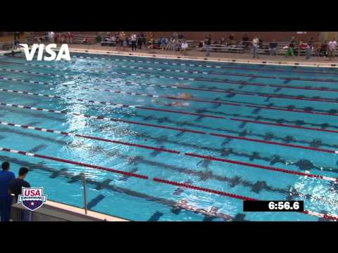 Men&#039;s 1500m Freestyle Final - 2012 Columbus Grand Prix