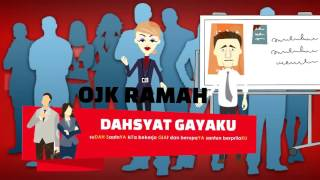 Animasi OJK Otoritas Jasa Kuangan - Video company profile editing 2D 3D 081293866669