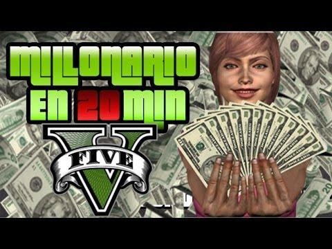 GTA V Online Como conseguir dinero 2.000.000 $ millones en 20min