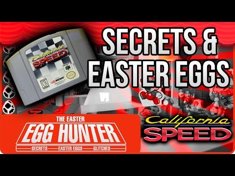 The Creepy Message - California Speed N64 - The Easter Egg Hunter