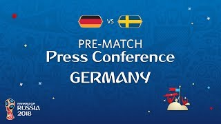 FIFA World Cup™ 2018 : GER vs SWE : Germany Pre-Match Press Conference