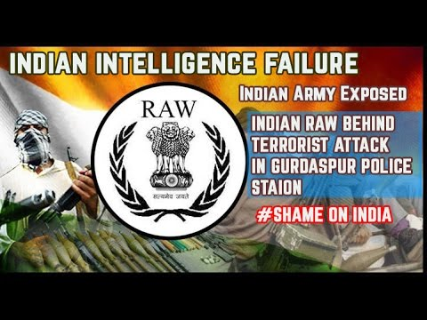 Indian RAW behind the Terrorist Attack 'Gurdaspur' Iftikhar Ahmad  Exposing India