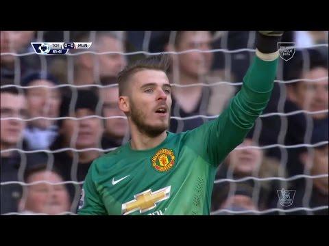 David De Gea Vs. Tottenham Hotspur 14-15 [Away] [HD 720p]