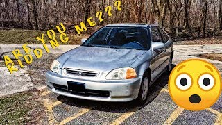 Here's Why This Honda Civic is Worth $1,000,000!!!
