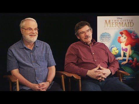 The Little Mermaid's Ariel Was Almost Blonde: Interview With Ron Clements & Mark Henn