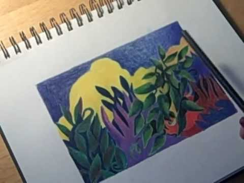 Colored Pencil Drawing My Technique