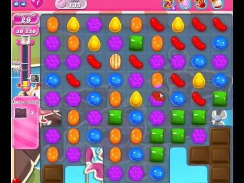 Candycrush Level 135 - 3stars by Candycrushgame.blogspot.com