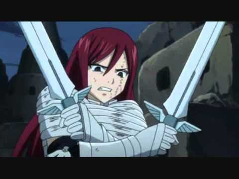 Erza VS Midnight - Return of the Phantom Stranger