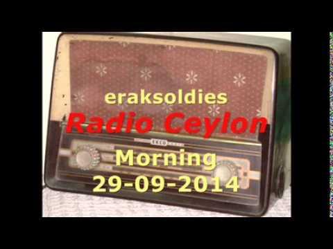 Radio Ceylon 29-09-2014~Monday Morning~01 Film Sangeet - Lata...