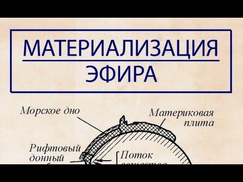Примеры материализации эфира в вещество, снятые на видео