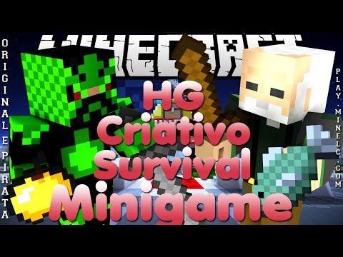 Divulgação de Server Minecraft 1.7.8/1.7.9 SMP+CRI, HG e Minigame [Original e
