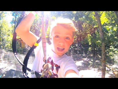 MattyB Summer 2014 - Extreme Zipline