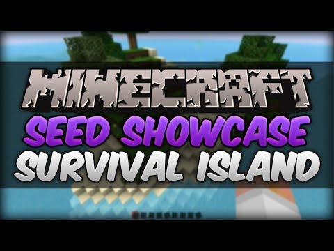 Minecraft 1.7.9 Seed Showcase - Epic Survival Island Seed!