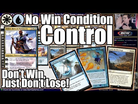 Why Win? Just Don't Lose! No-Win-Condition UW Control In Standard