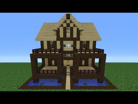 Minecraft Tutorial: How To Make A Wooden House - 14