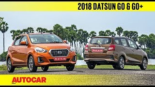 2018 Datsun Go & Go+ facelift | First Drive Review | Autocar India