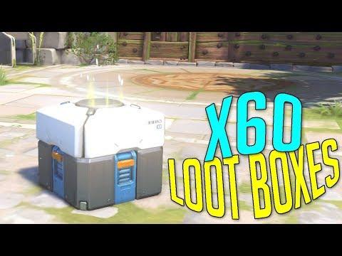 OUVERTURE DE 60 LOOT BOXES AVANT LES SUMMER GAMES OVERWATCH PC FR