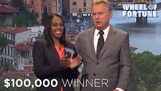 Tiebreaker and $100,000 WIN | Wheel of Fortune