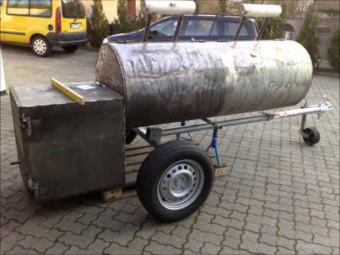 BIG BBQ Smoker selber bauen (Germany)