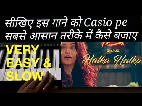 Download Lagu  HALKA HALKA SUROOR | SUNIDHI CHAUHAN & DIVYA KUMAR | सीखिए इस गाने को Casio pe बजाने का easy तरीका Mp3 Free