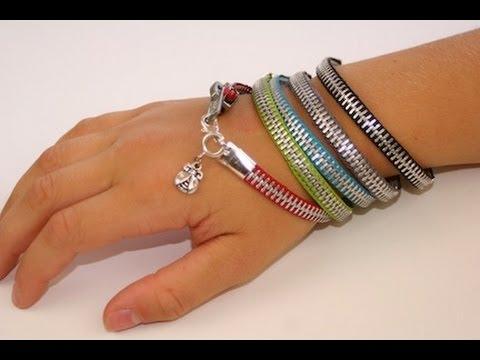 Diy Zipper Bracelet Back To School Fashion Ideas