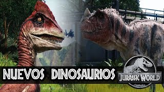 ¡NUEVOS DINOSAURIOS! - JURASSIC WORLD: EVOLUTION