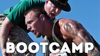 Civilian get a taste of the United States Marine Corps Recruit Training - 2015 Boot Camp Challenge