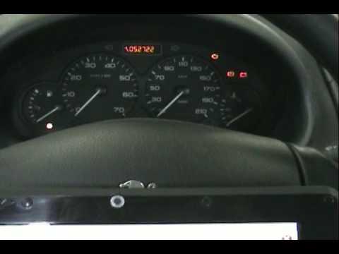 Revision Panel De Instrumentos Vehiculo Peugeot 206