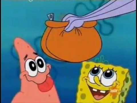 Spongebob And Patrick Sell Chocolate Bars
