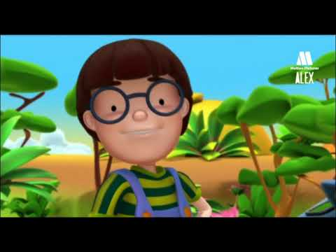 O GIRAFA - Desenhos animados educacionais para aprender animais com crianças