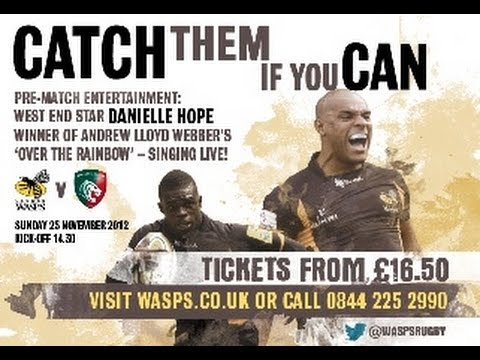 London Wasps wingers Tom Varndell and Christian Wade Try Highlights | Rugby Video
