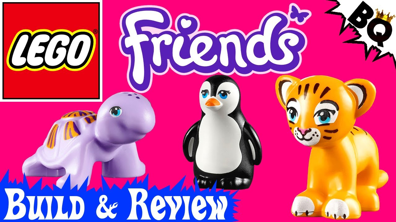 Awesome Animated Series Lego Friends Animal Series 4