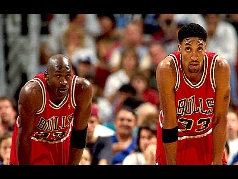 Bulls vs. Lakers - 1996 (72-10 season) - Magic Johnson is back!!