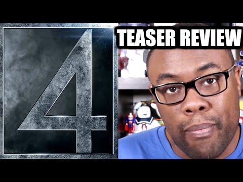 FANTASTIC FOUR Teaser Trailer Review (I'm Done) : Black Nerd