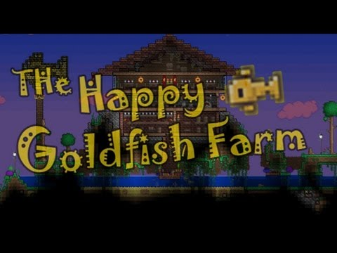 how to get goldfish in terraria mobile