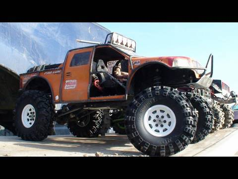 RC ADVENTURES - SCALE RC TRUCKS #13 - EVENT #4 HILL CLIMB TTC 2009