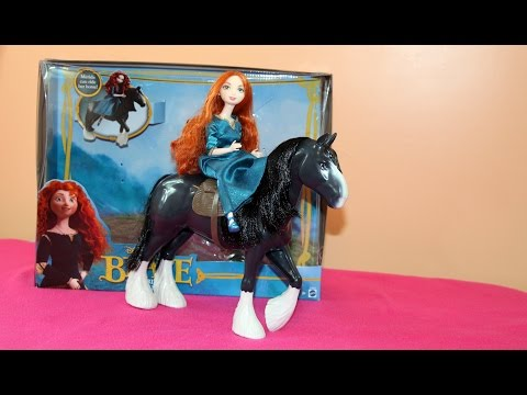 BRAVE Merida & Angus Giftset Doll and Horse - Disney/Pixar 🐴