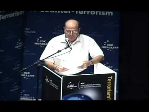 Lt. Gen. (Ret.) Moshe Yaalon's Keynote Address at ICT's 11th International Conference