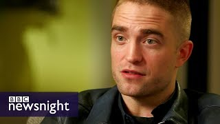 Robert Pattinson on acting, fame and his new film Good Time  - BBC Newsnight