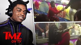 "Kodak Black ""Proposes"" With A Ring Pop! 